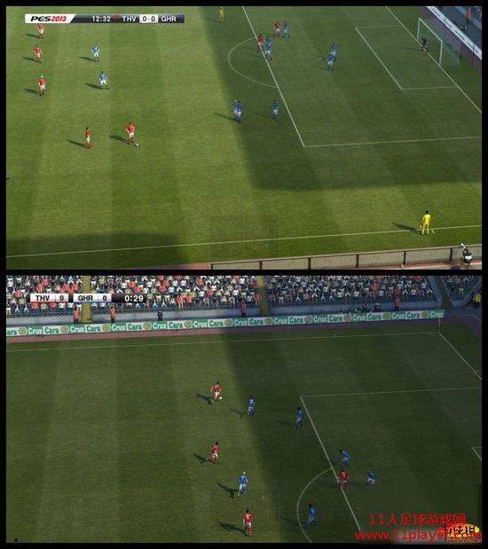 e3展:众明星亮相《实况足球2013》,与pes2012画质对比