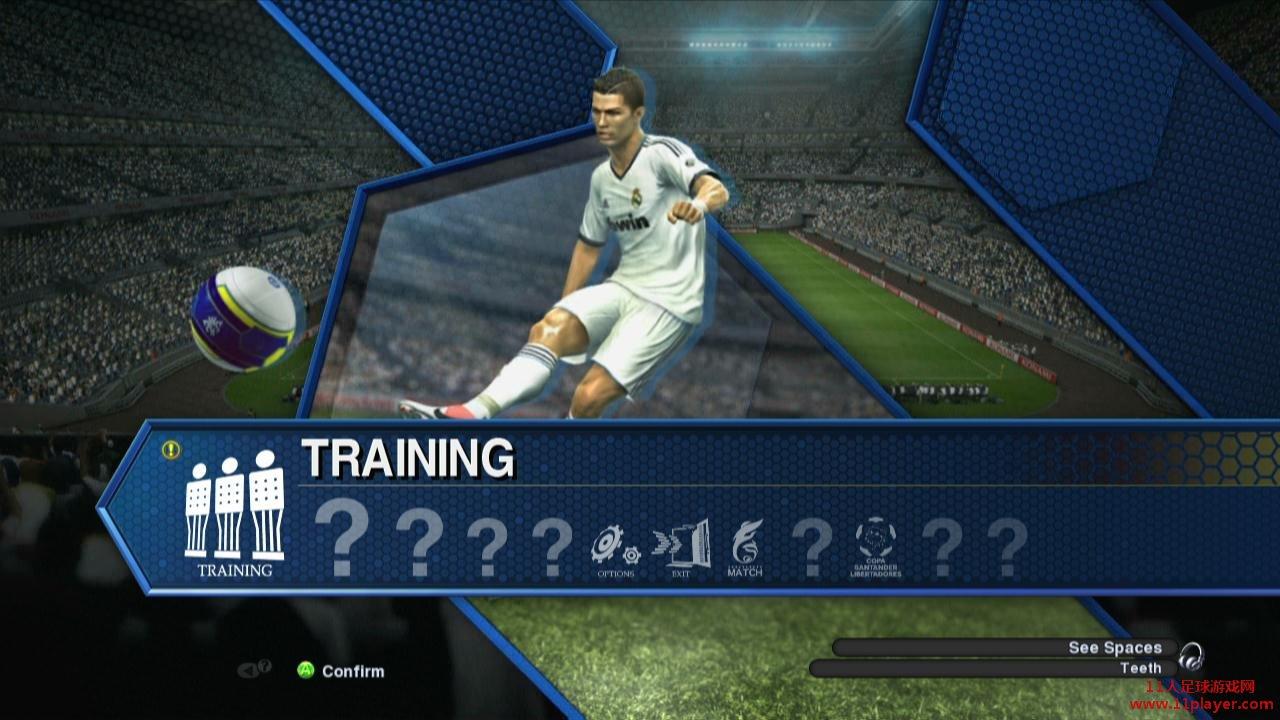 《实况足球2013》demo第二版试玩感想 (推荐训练模式)