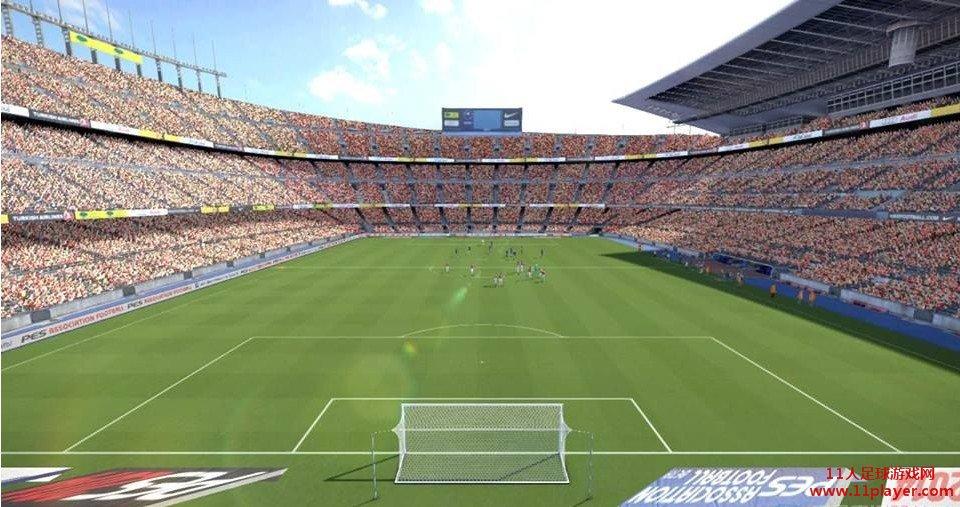 巴塞罗那主场:诺坎普球场补丁