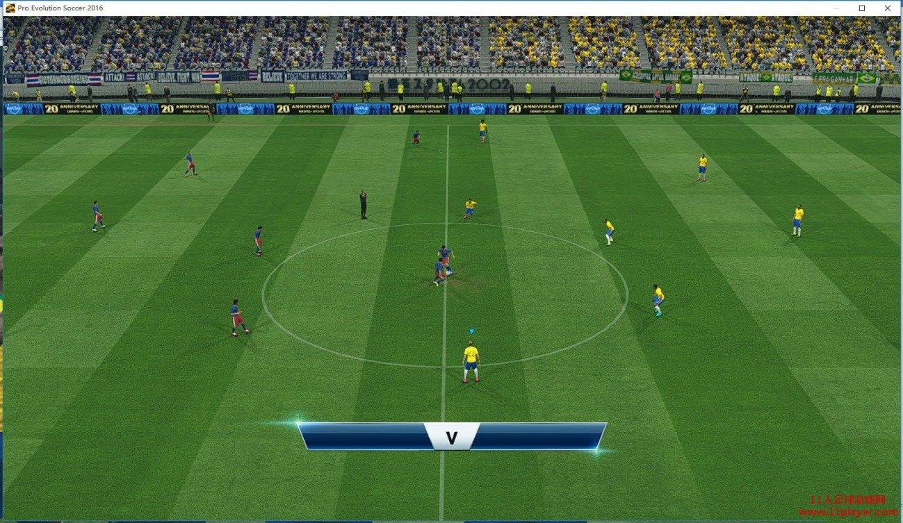 ES2016 仿PS4版画质的优化补丁 - 11人足球网
