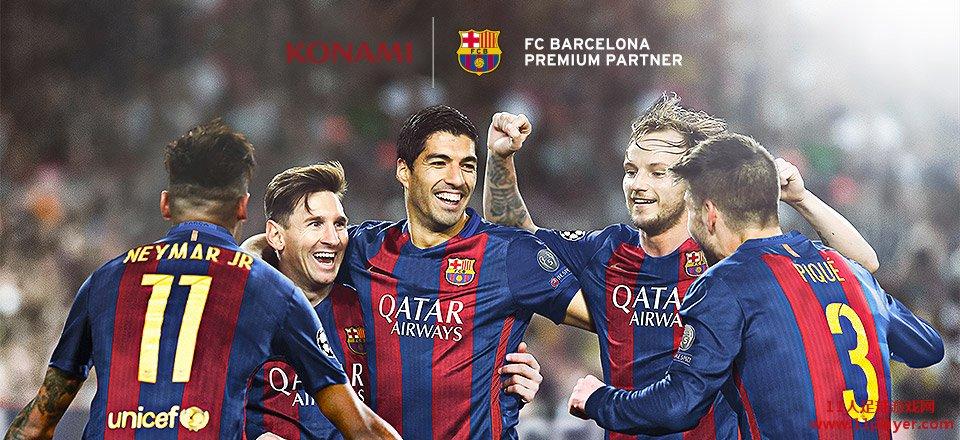 方再放炸弹 与巴塞罗那俱乐部建立高级合作伙伴图片